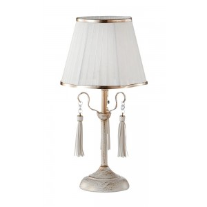 Настольная лампа Crystal Lux OFELIA LG1 WHITE