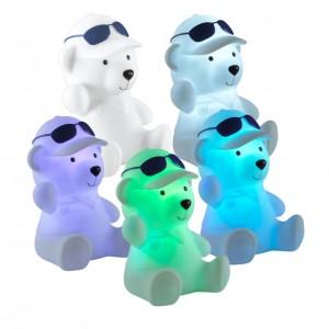 Детский настольный светодиодный светильник-ночник (с выключателем) с эффектом плавной смены цвета NOVOTECH NIGHT LIGHT 357339