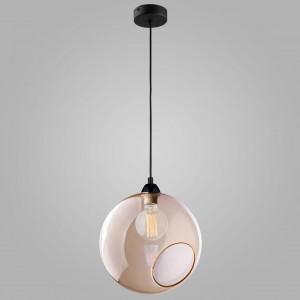 Подвесной светильник с круглым стеклянным плафоном 1934 Pobo