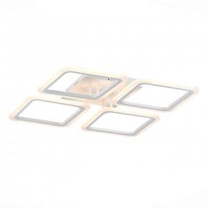 Потолочная светодиодная люстра Evoluce Qutro SLE200402-04