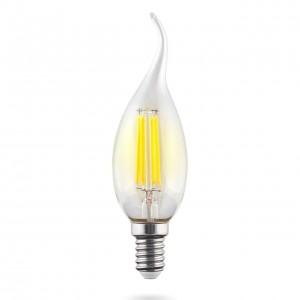 Лампа светодиодная филаментная Voltega E14 9W 2800К прозрачная VG10-CW1E14warm9W-F 7094