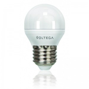Лампа светодиодная Voltega E27 5.5W 2800К матовая VG2-G2E27warm5W 8342
