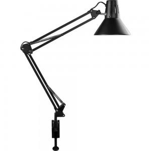 Светильник под лампу Feron DE1430 60W, 230V, патрон E27 на струбцине, черный