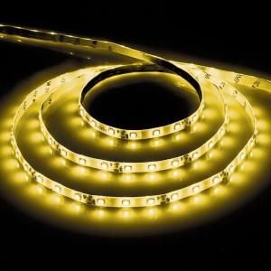 Cветодиодная LED лента Feron LS603, 60SMD(2835)/м 4.8Вт/м  5м IP20 12V желтый
