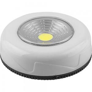 Светодиодный светильник-кнопка Feron FN1204 (1шт в блистере), 2W, белый