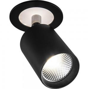 Светодиодный светильник Feron AL180 встраиваемый 10+3W 4000K черный