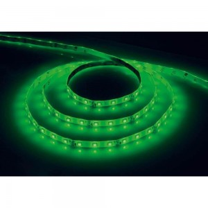Cветодиодная LED лента Feron LS604, 60SMD(2835)/м 4.8Вт/м  5м IP65 12V зеленый