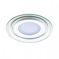Светильник точечный встраиваемый декоративный со встроенными светодиодами Acri Lightstar 212030