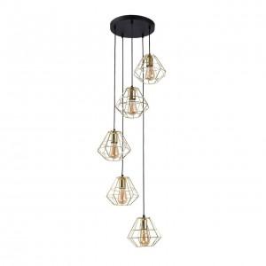 Подвесной светильник TK Lighting 2576 Diamond Gold