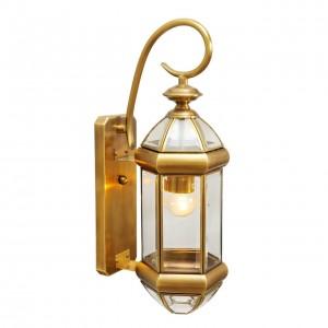 Уличный настенный светильник Мидос 802020401