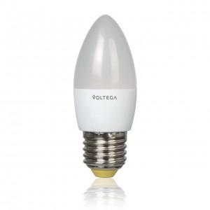 Лампа светодиодная Voltega E27 5.4W 4000К матовая VG4-C2E27cold5W 5744