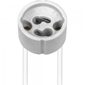 Патрон для галогенных ламп, 230V GU10, LH32