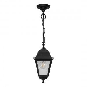 Светильник садово-парковый Feron НСУ 04-60-001 подвесной, 4-х гранник 60W E27 230V, черный