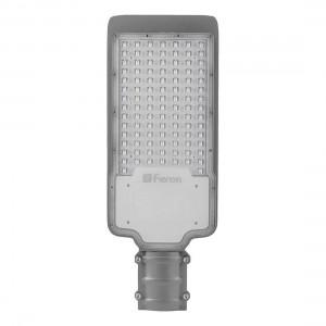 Светодиодный уличный консольный светильник Feron SP2924 100W 3000K 230V, серый