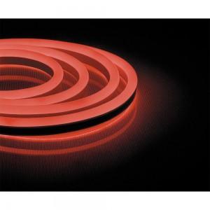 Cветодиодная LED лента Feron LS720 неоновая, 120SMD(2835)/м 9.6Вт/м  50м IP67 220V красный