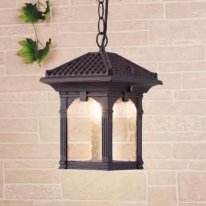 Уличный подвесной светильник Elektrostandard Corvus H капучино GL 1021H 4690389138195